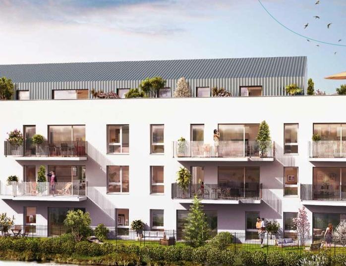 Villenave d'Ornon – Appartement T3 – 62 m2 – 1er étage, exposé SUD