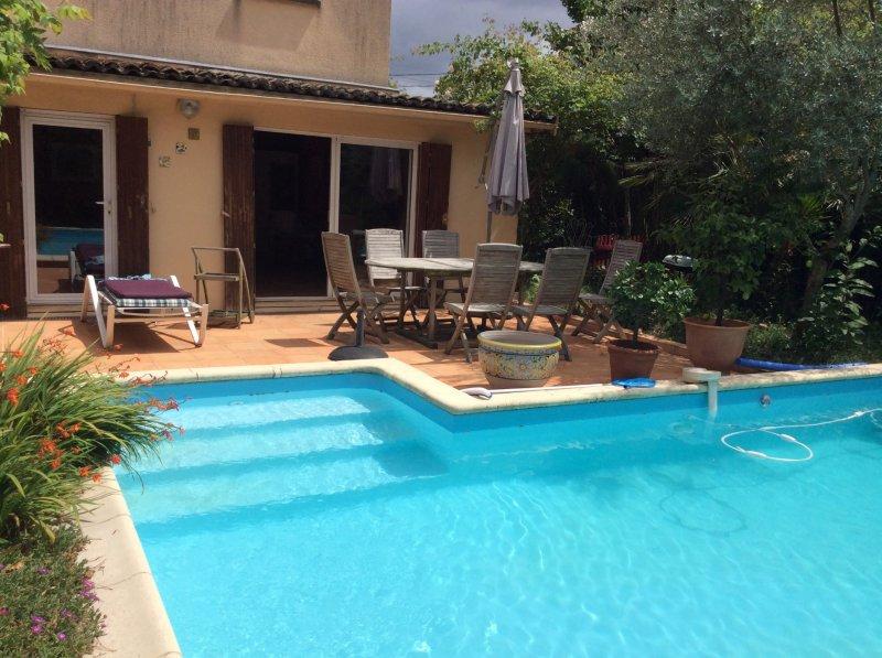 Bordeaux Caudéran – Grande et belle maison de 172m2 avec piscine