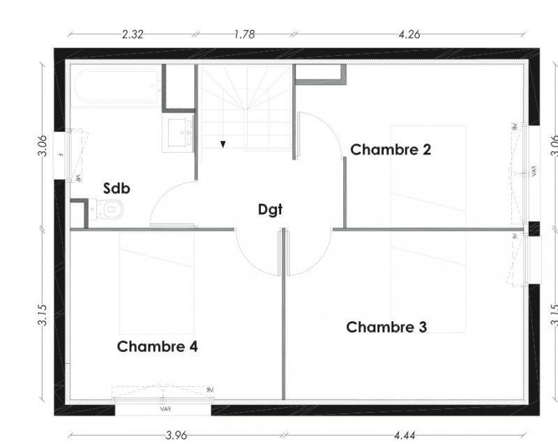 Bordeaux  – Haut Floirac – Maison T5 Cocooning